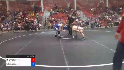 79 kg Semifinal - Michael O'Malley, Pennsylvania RTC vs Patrick Kennedy, Hawkeye Wrestling Club