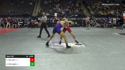 125 lbs Consolation - Eric Barnett, Wisconsin vs Kyle Biscoglia, Northern Iowa