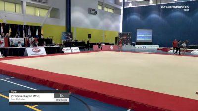 Victoria-Kayen Woo - Floor, Gym-Richelieu - 2019 Elite Canada - WAG