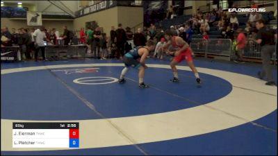 65 kg Rr Rnd 3 - Jaydin Eierman, TMWC vs Luke Pletcher, TMWC/Ohio RTC