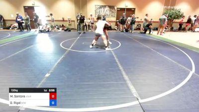132 kg Rr Rnd 3 - Michael Santore, Journeymen Wrestling Club vs Dante Rigal, New York