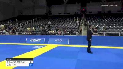 SARAH MALYNN COPELAND vs GENEVIÈVE BUTTON 2021 World IBJJF Jiu-Jitsu No-Gi Championship