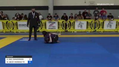DAKOTA RAE ZIMMERMAN vs MARY DEISY MORENO TREJO 2021 Pan IBJJF Jiu-Jitsu No-Gi Championship