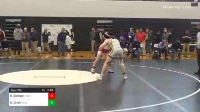 160 lbs Final - Bailey Gimbor, Hamburg vs Eli Crum, Boiling Springs
