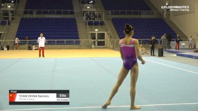Team China Seniors - Floor, Official Training - 2019 City of Jesolo Trophy