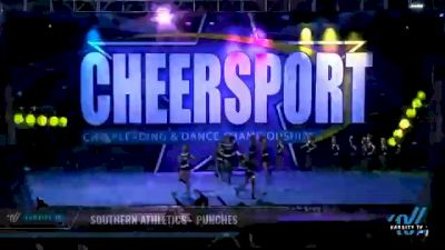 Southern Athletics - Punches [2021 L4 Junior - D2 - Small Day 2] 2021 CHEERSPORT National Cheerleading Championship