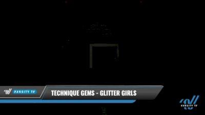 Technique Gems - Glitter Girls [2021 L3.2 Youth - PREP Day 1] 2021 The U.S. Finals: Kansas City