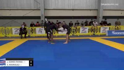 JANSEN GOMES RAMOS vs SEBASTIAN RODRIGUEZ 2020 American National IBJJF Jiu-Jitsu Championship