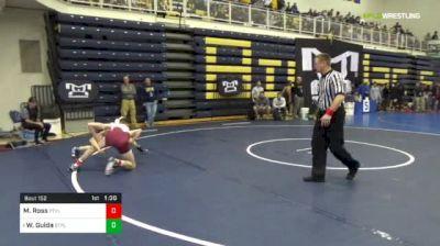 120 lbs R-32 - Matthew Ross, Pottsville vs Wil Guida, St. Paul's-MD