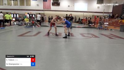 145 lbs Consi Of 4 - Eric Falleni, Lenape Valley vs Nick Stampoulos, Phillips Trained