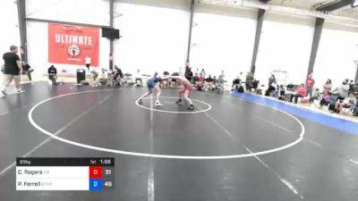 89 kg Final - Caden Rogers, Malvern Prep vs Parker Ferrell, Gitomer