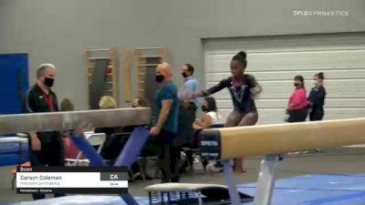 Carsyn Coleman - Beam, Precision Gymnastics - 2021 American Classic and Hopes Classic