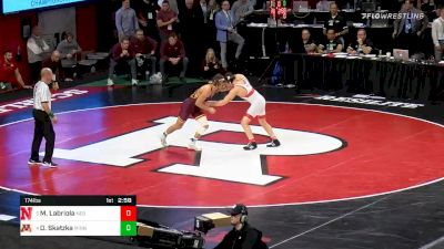 174 lbs 5th Place - Mikey Labriola, Nebraska vs Devin Skatzka, Minnesota