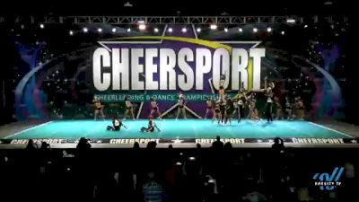 Brandon All-Stars - Black [2021 L6 Senior Coed - Small Day 1] 2021 CHEERSPORT National Cheerleading Championship