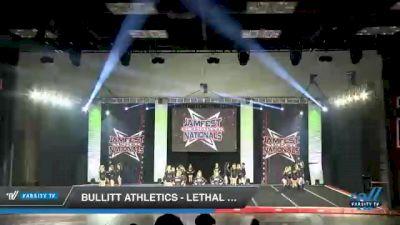 Bullitt Athletics - Lethal Ladies [2021 L2 Junior - Medium Day 2] 2021 JAMfest Cheer Super Nationals