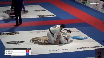 Alexis Alduncin vs Reuben Sagman 2018 Abu Dhabi World Professional Jiu-Jitsu Championship