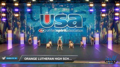 Orange Lutheran High School [2020 Medium Varsity Jazz (8-11) Day 3] 2020 USA Spirit Nationals
