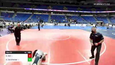 113 lbs Final - Sulayman Bah, Pennsylvania vs Kade Davidheiser, Pennsylvania