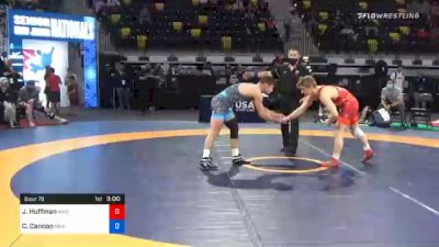 61 kg Prelims - Jack Huffman, MWC Wrestling Academy vs Chris Cannon, New Jersey