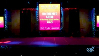 CC Champs - Shine [2018 Senior-Restricted--Coed--Small Day 1] ACDA Reach The Beach OC All Star and College Nationals
