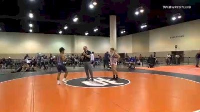 60 kg Consolation - Caleb Gross, Jackrabbit WC vs Aizayah Yacapin, Unattached