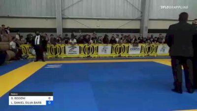 GIANCARLO BODONI vs LUCAS DANIEL SILVA BARBOSA 2021 Pan IBJJF Jiu-Jitsu No-Gi Championship