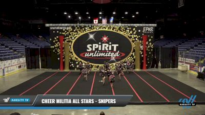 Cheer Militia All Stars - Snipers [2021 L3 Junior - Medium] 2021 PA Championship