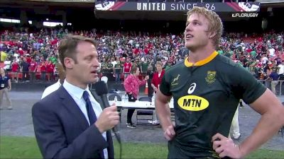 Wales v South Africa Post-Game Interviews