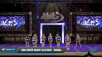 CMA Cheer Magic Allstars - Diamonds [2021 L4 Senior Open Day 2] 2021 The U.S. Finals: Ocean City