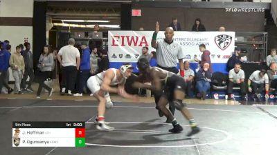 149 lbs 5th Place - Jimmy Hoffman, Lehigh vs Pj Ogunsanya, Army