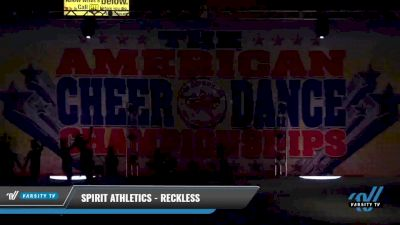 Spirit Athletics - Reckless [2021 L2 Youth - D2 - Small Day 2] 2021 The American Celebration DI & DII