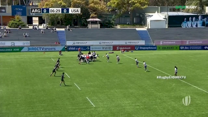 Two Tries USA Selects vs Argentina XV