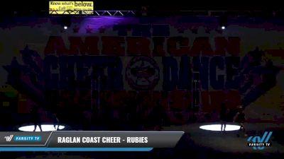 Raglan Coast Cheer - Rubies [2021 L1 Mini - Novice Day 2] 2021 The American Celebration DI & DII