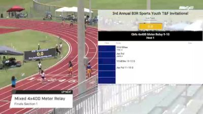 Youth Mixed 4x400m Relay, Finals 1 - Age under 14