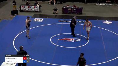 125 kg Rr Rnd 3 - Nick Gwiazdowski, Team Lloyd Keaser vs Tanner Hall, Team Lee Kemp