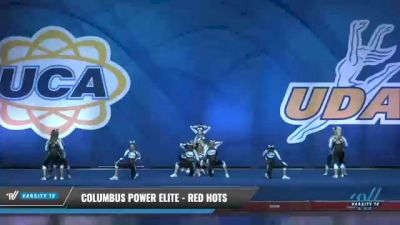 Columbus Power Elite - Red Hots [2020 L2 Senior Day 2] 2020 UCA Smoky Mountain Championship