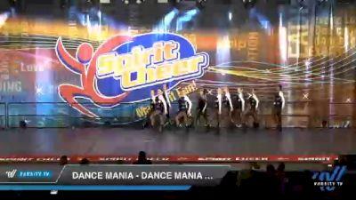 Dance Mania - Dance Mania Senior Jazz Small [2020 Senior - Jazz - Small Day 2] 2020 All American DI & DII Nationals