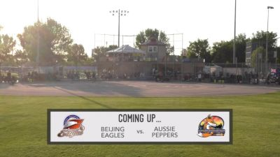 Full Replay - 2019 Beijing Eagles vs Aussie Peppers - Game 2 | NPF - Beijing Eagles vs Aussie Peppers - Game2 - Jun 12, 2019 at 7:39 PM CDT