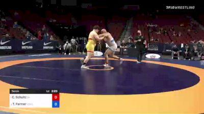 130 kg Semis - Cohlton Schultz, Sunkist Kids Wrestling Club vs Tanner Farmer, New York Athletic Club