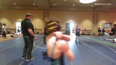 113 kg 3rd Place - Deakon Bailey, New York vs Ralph Keeney, New York