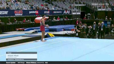 Akash Modi - Floor, Stanford Univ - 2021 US Championships Senior Competition International Broadcast