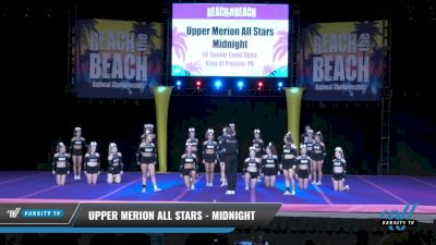 Upper Merion All Stars - Midnight [2021 L6 Senior Coed Open Day 1] 2021 ACDA: Reach The Beach Nationals