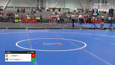 149 lbs 5th Place - Jarrett Degen, Iowa State vs Max Thomsen, Northern Iowa