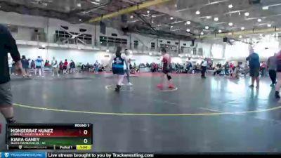 200 lbs Round 3 (4 Team) - Kiara Ganey, Black Mambas Blue vs Monserrat Nunez, Charlies Angels Black