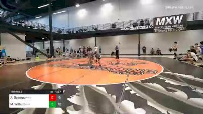 125 lbs Prelims - Alexander Ocampo, Midwest Xtreme Wrestling vs Marquarias Wilburn, Bad Boys IN