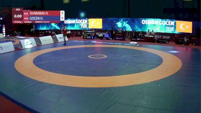86kg Gold - Ali Shabanau, BLR vs Osman Gocen, TUR