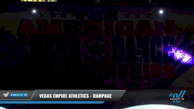 Vegas Empire Athletics - Rampage [2021 L3 Youth - D2 - Small Day 1] 2021 The American Celebration DI & DII