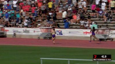 High School Girls' 4x100m Relay 2A, Finals