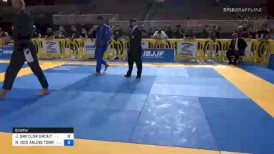 J. BREYLOR GROUT vs RAFAEL DOS ANJOS TORRES 2020 Pan Jiu-Jitsu IBJJF Championship