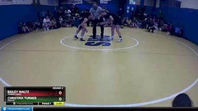 130 lbs Round 2 - Bailey Waltz, Timber Creek vs Christina Turner, Eagles